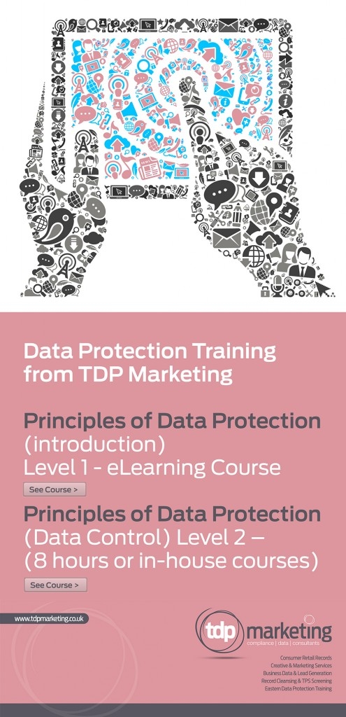TDP Marketing Data Protection Training